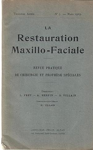 La Restauration maxillo-faciale : revue pratique de: Herpin, Frey, G.