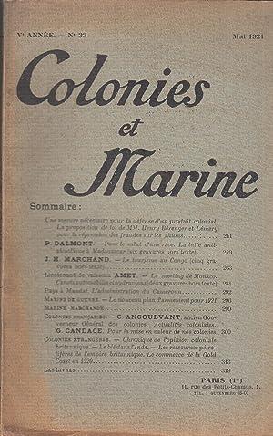 Colonies et Marine - Ve année -: P. Dalmont, J.H.