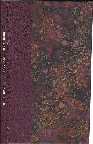 Contribution a l'étude de l'embolie graisseuse (Précieux: Théodore Flournoy
