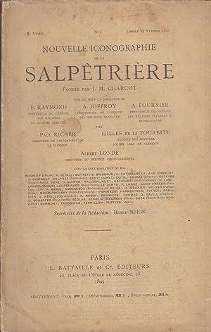 Nouvelle Iconographie De La Salpêtrière N° 1: Jean Martin Charcot