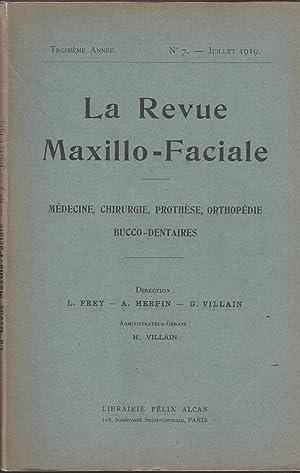 La Revue Maxillo-Faciale : Médecine, Chirurgie, Prothèse,: Rousseau-Decelle, Jean Rouget,