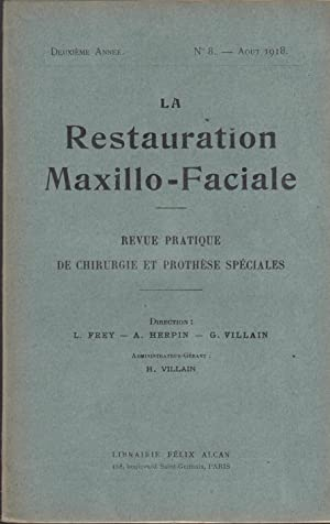 La Restauration Maxillo-Faciale - Revue pratique de: O. Rubrecht, A.