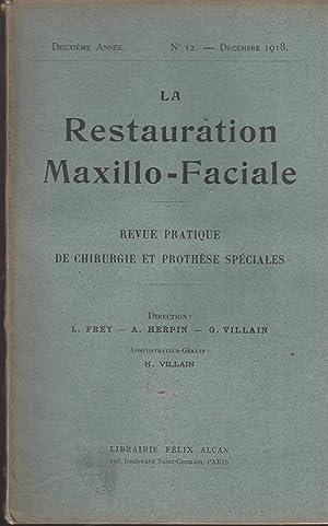 La Restauration Maxillo-Faciale - Revue pratique de: L. Testut, L.