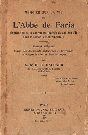 Mémoire sur la vie de l'abbé de: D. G. DALGADO