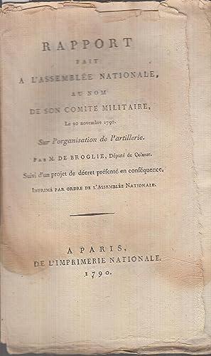 Rapport fait à l'Assemblée Nationale au nom: Charles-Louis-Victor Broglie, prince