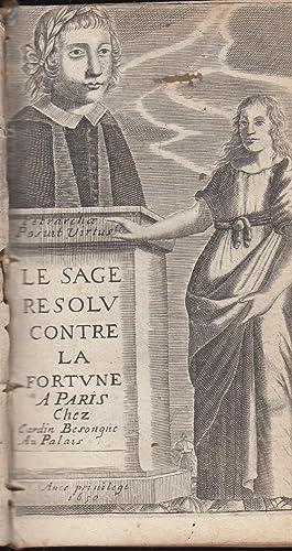 Le Sage résolu contre la fortune.: PETRARQUE François