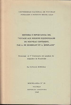 Universidad Nacional de Tucuman - Fundacion e: A. de Humboldt