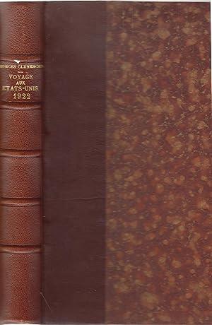 Georges Clémenceau : Voyage aux Etats-Unis (tapuscrits: Georges Clemenceau]