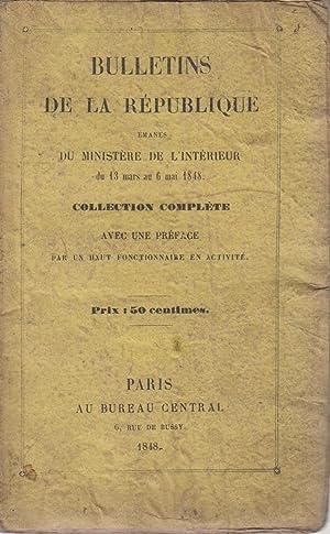Bulletins de la République émanés du Ministère: George Sand -