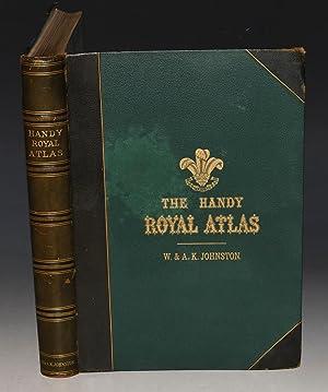 Handy Royal Atlas of Modern Geography. Exhibiting: JOHNSTON, A. K.