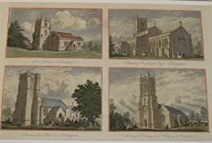 Durweston, Gillingham, Shillingston, Marnhull. Dorset. The churches of St.Nicholas?s, Durweston; ...