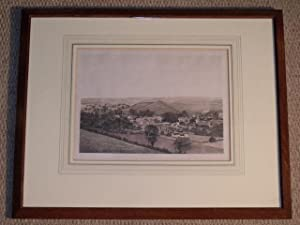Winterbourne Steepleton, Dorset. Lithograph.