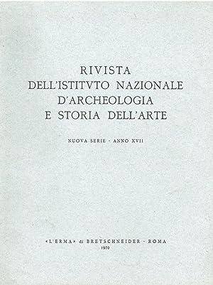 Rivista dell'istituto nazionale d'archeologia e storia dell'arte.: N.D.