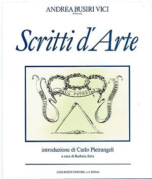 Scritti d'arte: Busiri Vici d'Arcevia