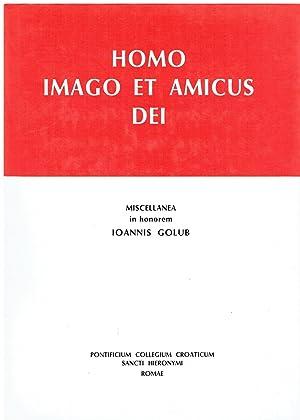 homo imago et amicus dei miscellanea in: aa vv