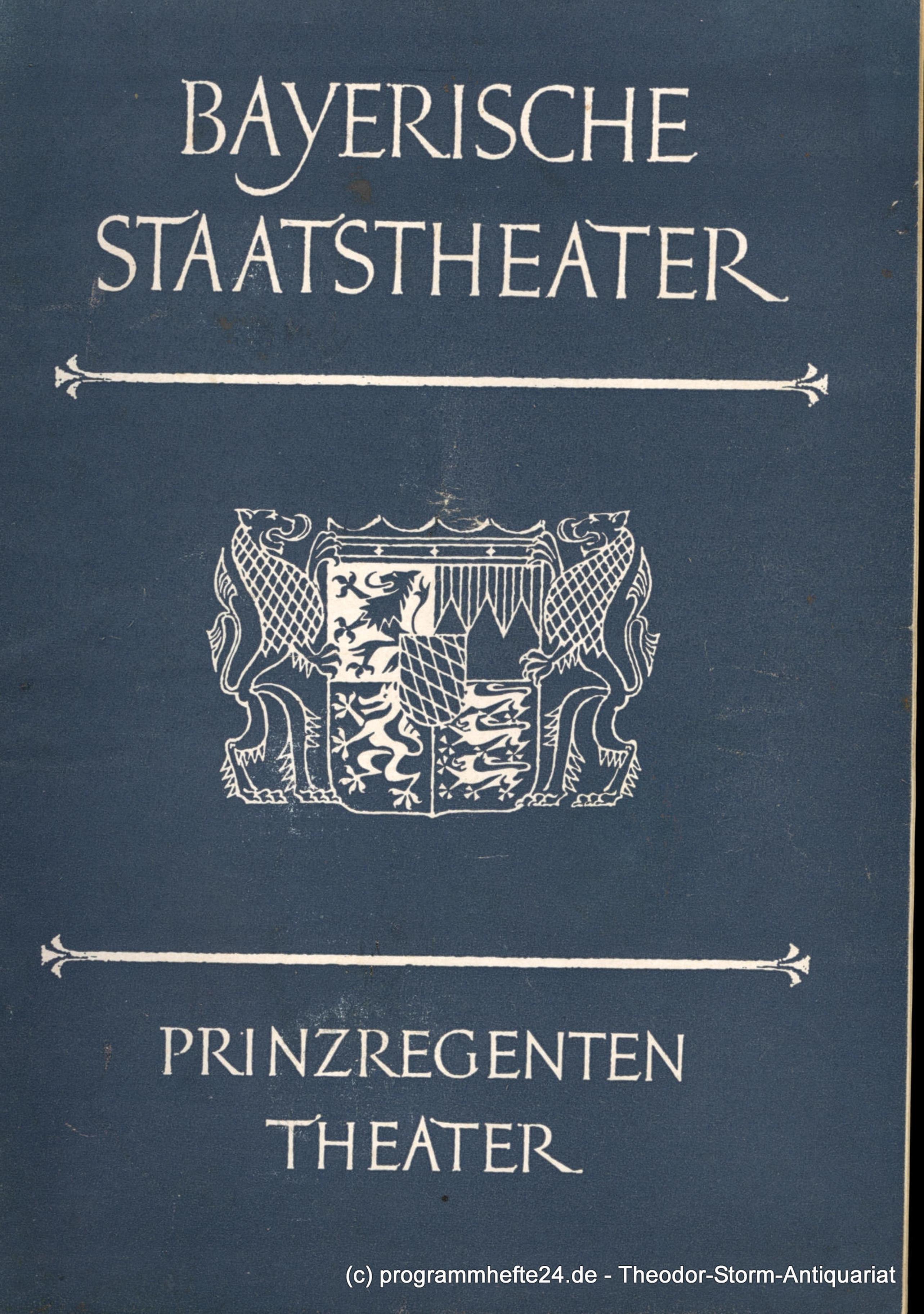bayerische staatstheater - ZVAB