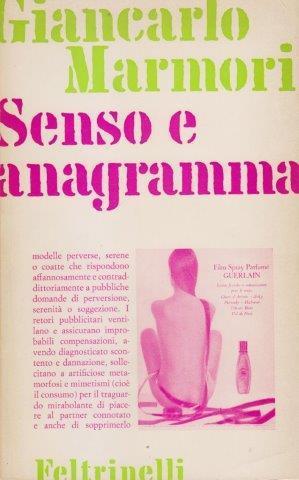 Senso e anagramma: MARMORI Giancarlo