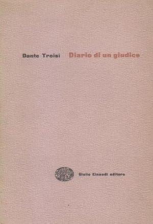 Diario di un giudice: TROISI Dante