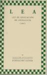 LEY DE EDUCACIÓN DE ANDALUCÍA (2007). LEA - AA.VV.
