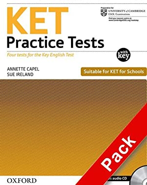 KET PRACTICE TESTS REVISED ED: W/K +CD: VARIOS AUTORES