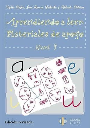 Aprendiendo a leer nivel 1: AA.VV