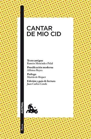 CANTAR DE MIO CID.: ANONIMO