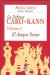 LA DEFENSA CARO-KANN : EL ATAQUE PANOV: KARPOV, ANATOLIÏ EVGUEN