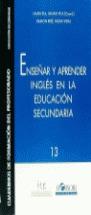 ENSEÑAR Y APRENDER INGLES EN LA EDUCACION: PLA BACÍN, LAURA,
