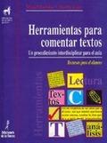 HERRAMIENTAS PARA COMENTAR TEXTO: BUENDÍA MUÑOZ, MIGUEL