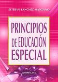 PRINCIPIOS DE EDUCACIÓN ESPECIAL: SANCHEZ MANZANO, ESTEBAN