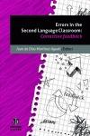 ERRORS IN THE SECOND LANGUAGE CLASSROOM: MARTÍNEZ AGUDO, JUAN