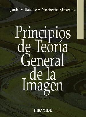 Principios de teoría general de la imagen: VILLAFAÑE GALLEGO, JUSTO