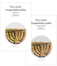 ANTIGUEDADES JUDIAS 2VOL.(N.45 LIBROS I-XI) (N.46 LIBROS: FLAVIO JOSEFO