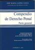 COMPENDIO DE DERECHO PENAL : PARTE GENERAL: LUZÓN CUESTA, JOSÉ