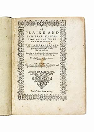 A plaine and familiar exposition of the: John Dod [and