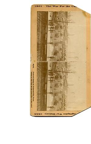 6646. Federal Camp at Johnsonville, Tenn: Stereo Card]