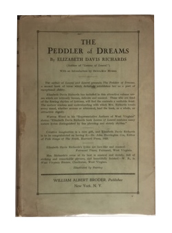 The Peddler of Dreams and Other Poems