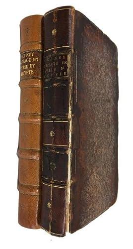 Voyage en Syrie et en Egypte, pendant les Annees 1783, 1784, et 1785.: Volney, Constantin Francois ...