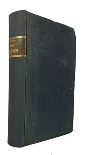 The Koran, Commonly Called the Alcoran of: Koran. English [Translated