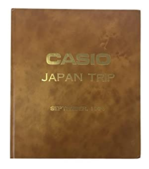 Casio Japan Trip September, 1976. [cover title]: Photo Album]