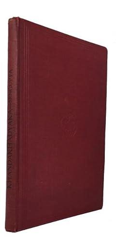 The Khandakhadyaka: An Astronomical Treatise of Brahmagupta: Sengupta, Prabodh Chandra, editor and ...
