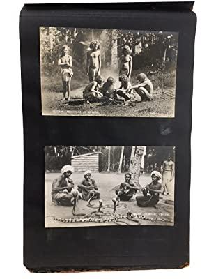 Bob's Album which Includes Some Photos of India (one of Gandhi) from 1935. [our title]: Photo ...