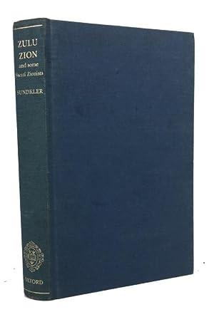 Zulu Zion and Some Swazi Zionists: Sundkler, Bengt