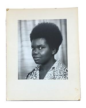 Black and White Photograph: Barnwell, Ysaye Maria