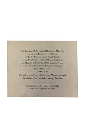 Brief Guide to an Exhibition of Cultural Objects Relating to the Manners and Customs of the ...