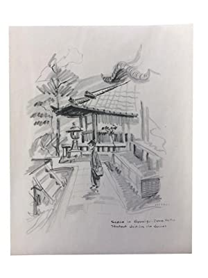 Sixth Army -- Around Kyoto: Sketches of Kyoto, Japan, Occupational Headquarters of General Walter ...