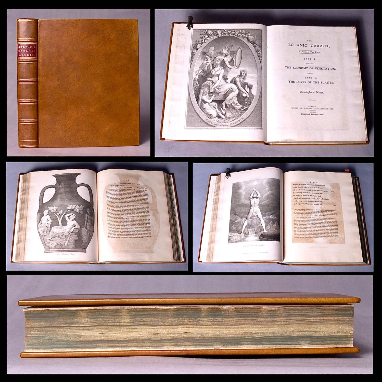 [William Blake] The botanic garden. A poem, in two parts. Part I. Containing the economy of ...