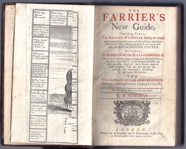 The farrier's new guide. Containing, first, the anatomy of a horse; being an exact and ...