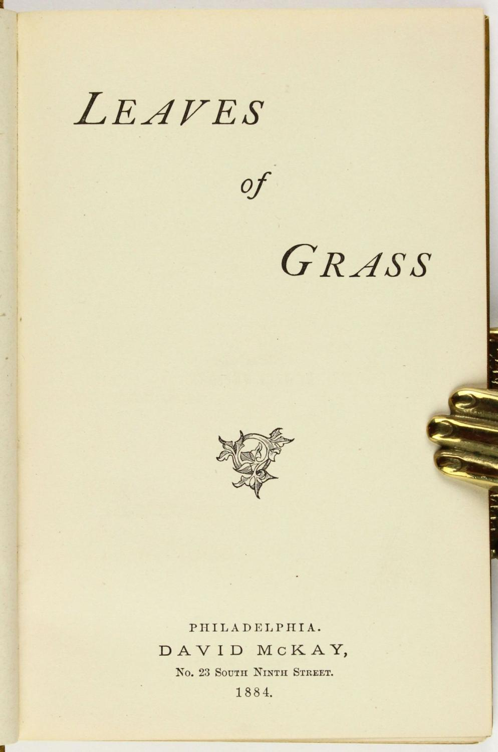 a look at walt whitmans transition in the publication of leaves of grass Letter from minnie vincent to walt whitman, december 11, 1873  edition of  leaves of grass was published—there were few effective ways to   transformation of american society, 1865-1920 (1990) serve as valuable  introductory  of grass to question whether or not they were even looking at a  picture of a poet, let.
