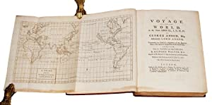 A voyage round the world, in the years MDCCXL, I, II, III, IV, by George Anson, Esq; afterwards ...